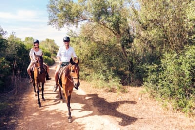 Beavers Bend horseback riding