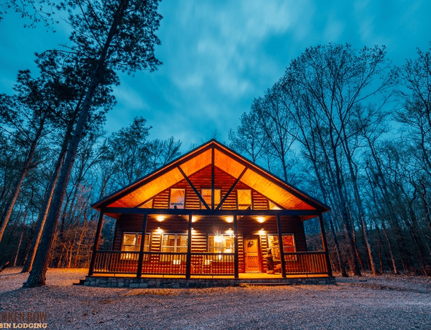 Broken Bow luxury cabins